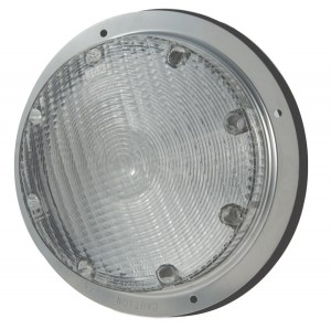 61793 – 8″ Surface Mount Dome Light, Clear