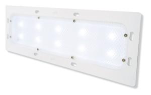 61881 – LED WhiteLight™ Recessed Mount 18″ Dome Light, Low Output, 10 Diodes, 400 Lumens, White
