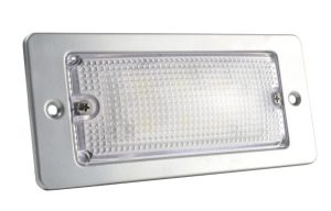 61931 – LED WhiteLight™ Recessed Small Mount Light, 6 Diodes, High Output Version, 300 Lumens, 12V, Gray