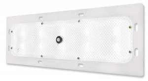 61F61 – WhiteLight™ Recessed Mount 18″ LED Dome Light, Standard Output, Motion Sensor, 10 Diodes, 800 Lumens, White