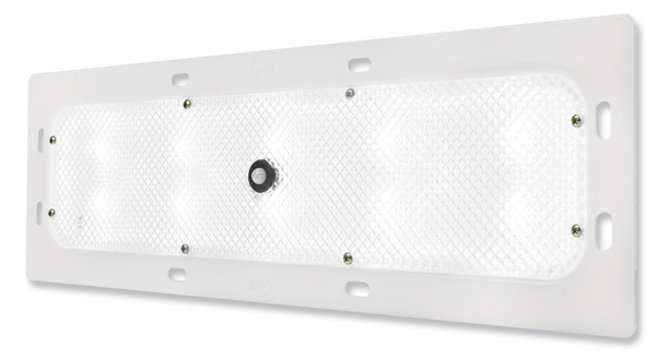 Grote Industries - 61F61 – WhiteLight™ Recessed Mount 18″ LED Dome Light, Standard Output, Motion Sensor, 10 Diodes, 800 Lumens, White