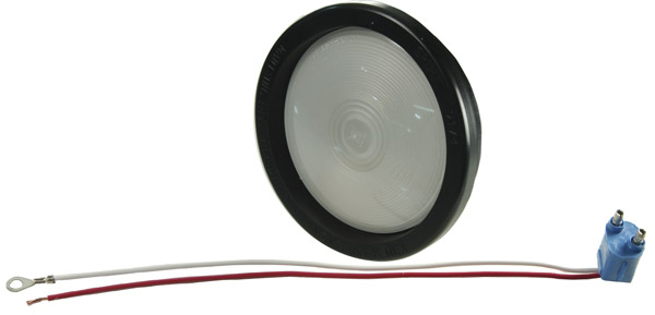62181 – 4″ Torsion Mount® II Dual-System Backup Light, Female Pin, Frosted Clear Kit (62171 + 91740 + 67010)