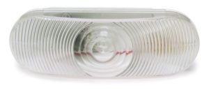 62231-3 – Torsion Mount® III Oval Dual System Backup Light, Female Pin, Clear, Bulk Pack