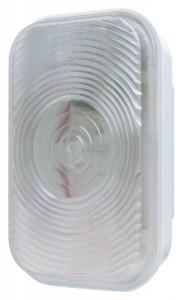 Luz de reversa rectangular, de sistema doble