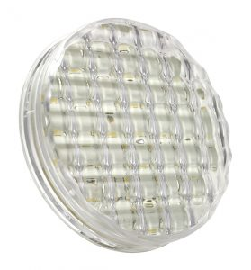 62391 –  SuperNova® 4″ Dual-System LED Backup Light, Clear
