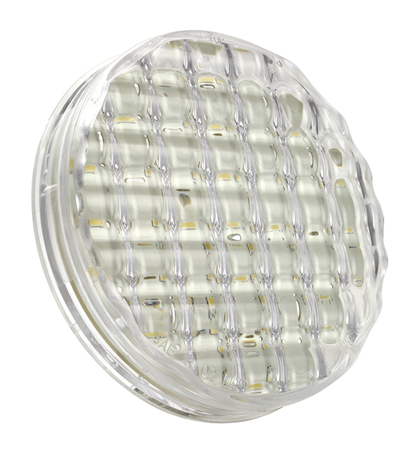 Grote Industries - 62401 – SuperNova® 4″ Single-System LED Backup Light, Clear