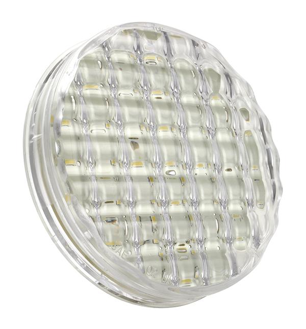 Grote Industries - 62401-3 – SuperNova® 4″ Single-System LED Backup Light, Clear, Bulk Pack