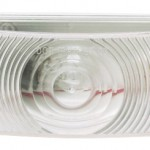 economy oval dual system backup light female clear