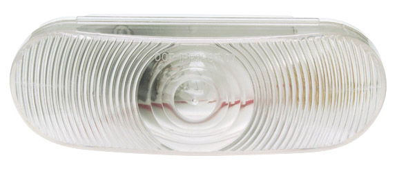 62521 – Economy Oval Dual-System Backup Light, Female Pin, Clear