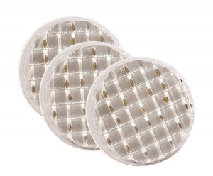 62571-3 –  SuperNova® 4″ Dual-System LED Backup Light, 24V, Clear, Bulk Pack