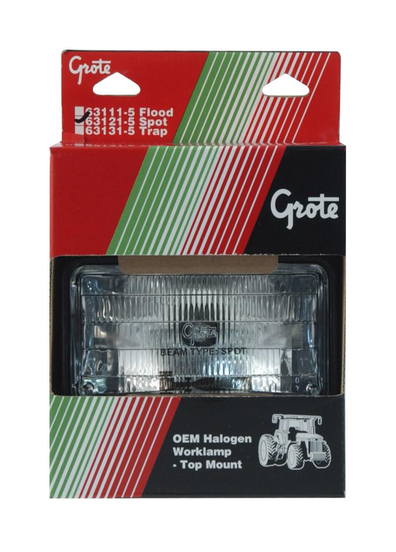 63121-5 – Composite Work Light, Top Mount, Spot, Retail Pack
