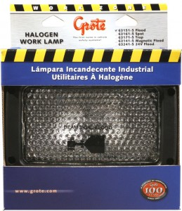63151-5 – Rectangular Halogen Work Light, Flood, Retail Pack