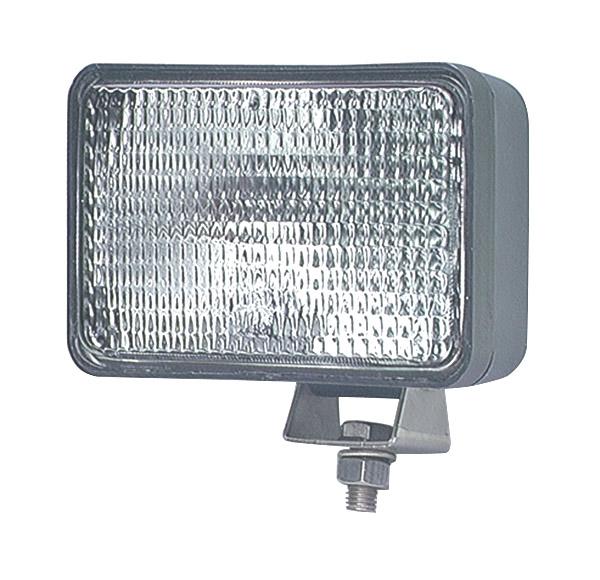 Grote Industries - 63181-5 – Large Rectangular Halogen Work Light, Flood, Retail Pack