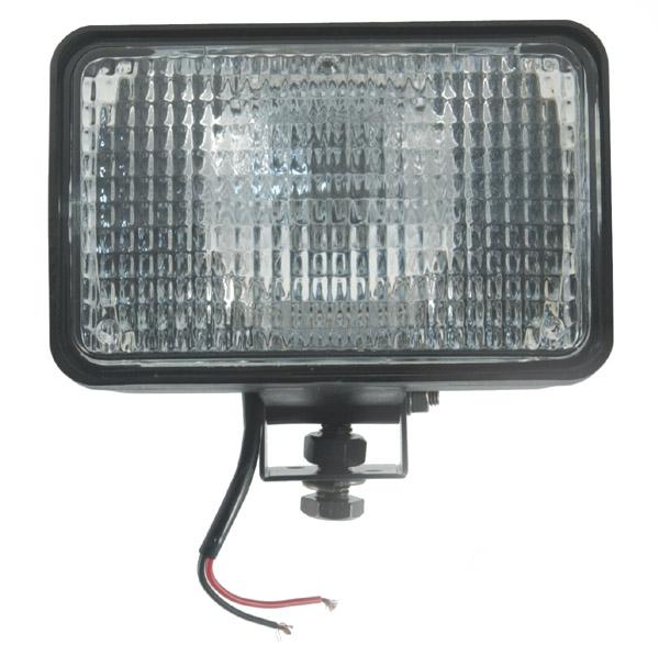 Grote Industries - 63251-5 – Large Rectangular Halogen Work Light, Flood, 24V, Retail Pack