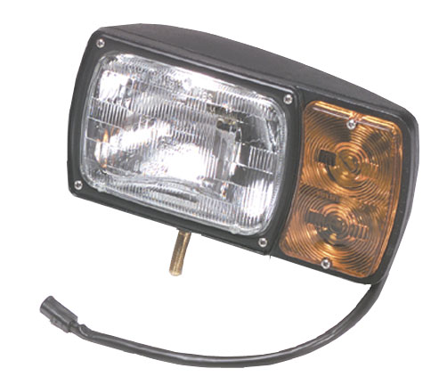 63381 – Snowplow Light Kit With Universal Wiring Harness, Replacement Light, LH
