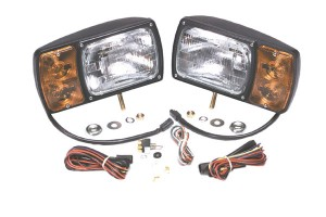 63451-4 – Snowplow Light Kit with Universal Wiring Harness, Pair Pack