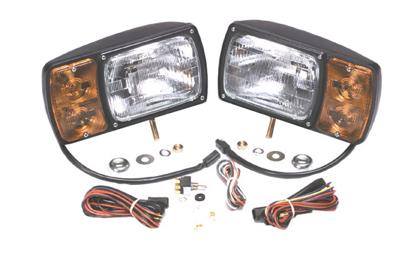 63451 41 63451 4 snowplow light kit with universal wiring harness, pair pack grote trailer wiring harness at creativeand.co