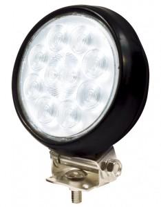 63561 – 4″ Round Utility Light, Hardwire, Spot w/ Rubber Housing, Black