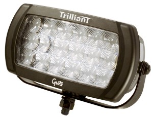 63571 – Trilliant® LED Work Light, 2100 Lumens, Beam Pattern, Spot, 12/24V