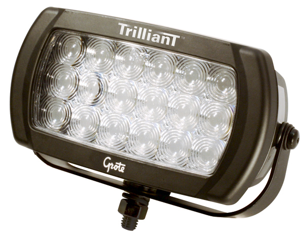 63571 – Trilliant® LED Work Light, 1300 Lumens, Beam Pattern, Spot, 12/24V