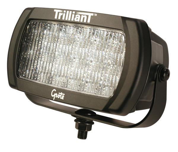 Grote Industries - 63591 – Trilliant® LED Work Light, 2050 Lumens, Trapezoid, 12V/24V