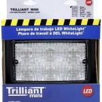 Retail Pack Trilliant® Mini LED WhiteLight™ Spot Work Light