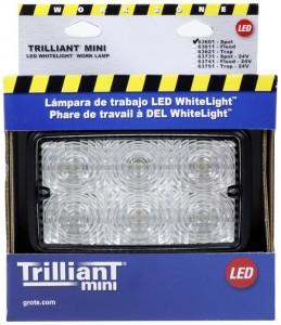 63601-5 – Trilliant® Mini LED WhiteLight™ Work Light, Spot, 700 Lumens, Clear, Retail Pack