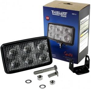 63611-5 – Trilliant® Mini LED WhiteLight™ Work Light, Clear, 700 Lumens, Flood, Retail Pack
