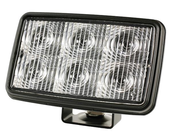 Grote Industries - 63621 – Trilliant® Mini LED WhiteLight™ Work Light, Trapezoid, 700 Lumens, Clear