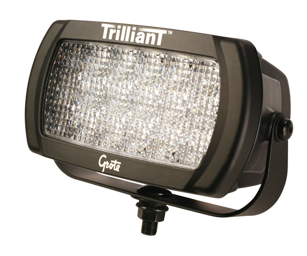Grote Industries - 63681 – Trilliant® LED Work Light, 2050 Lumens, Beam Pattern, Flood, 24V