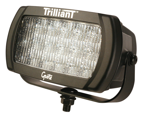 Grote Industries - 63691 – Trilliant® LED Work Light, 1400 Lumens, Trapezoid, 24V