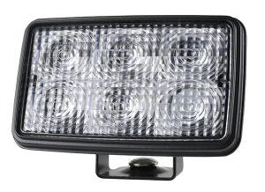 63741 – Trilliant® Mini in Per-Lux® Housing, Trilliant® Mini LED WhiteLight™ Work Light, Flood, 24V, 700 Lumens, Clear