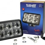 Trilliant® Mini LED Trapezoid Work Lights, Retail Pack.