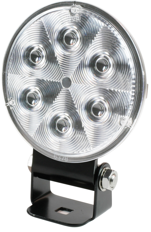 Grote Industries - 63861 – Trilliant® 36 LED Work Light, w/ Integrated Bracket & Pigtail, TractorPlus™ Pattern