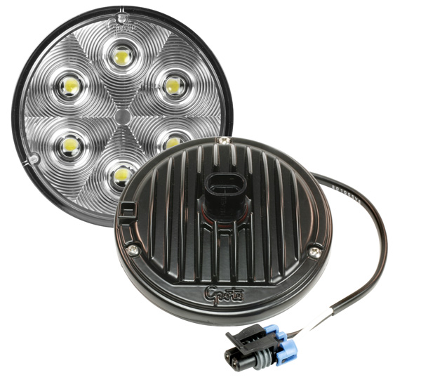 Grote Industries - 63971 – Trilliant® 36 LED Work Light, Hard Shell SuperSeal, TractorPlus™ Pattern