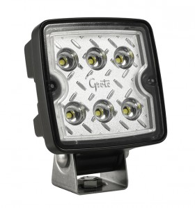 63E31 – Trilliant® Cube LED Work Light, 1200 Lumens, 12V/24V, Wide Flood