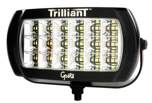63E41 – Trilliant® LED Work Light, 2400 Lumens, w/ Reflector, Flood, 12/24V