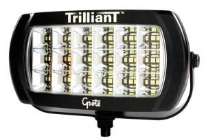 63E41 – Trilliant® LED Work Light, 2400 Lumens, w/ Reflector, Flood, 12/24V