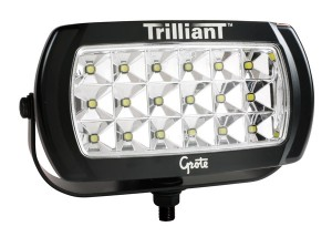 63E51 – Trilliant® LED Work Light, 2200 Lumens, w/ Reflector, Wide Flood, 12V/24V