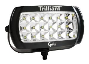 63E51 – Trilliant® LED Work Light, 2200 Lumens, w/ Reflector, Wide Flood, 12V/24V