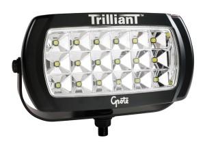 63E71 – Trilliant® LED Work Light, 2200 Lumens, w/ Reflector, Wide Flood, 24V