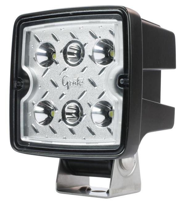 Grote Industries - 63F21 – Trilliant® Cube LED Work Light, 3000 Lumen, Flood