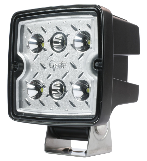 Grote Industries - 63F31 – Trilliant® Cube LED Work Light, 3000 Lumen, 24V, Flood