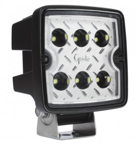 63F71 – Trilliant® Cube LED Work Light, 3000 Lumen, Wide Flood