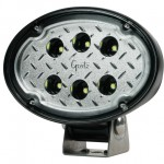 63f91 - Oval LED Work Light - 1200 Lumen