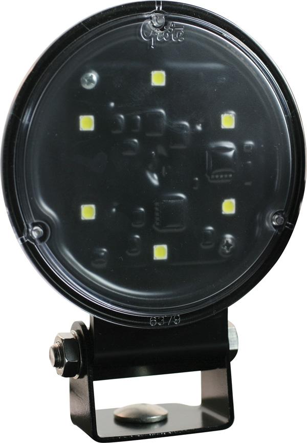 Grote Industries - 63H01 – Trilliant® 36 LED Work Light, Deutsch Connector, w/ Integrated Bracket, Wide Flood