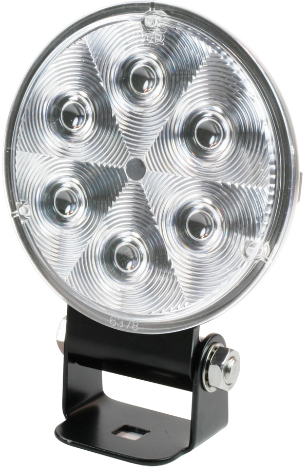Grote Industries - 63H11 – Trilliant® 36 LED Work Light, TractorPlus™ Pattern, w/ Integrated Bracket, Deutsch Connector