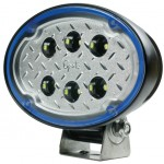 63j11 - Oval LED Work Light - 3000 Lumens - Wide Flood