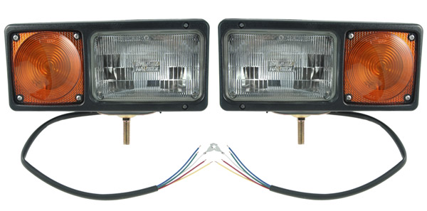 Grote Industries - 64261-4 – Per-Lux® Snowplow Lamps, Pair Pack