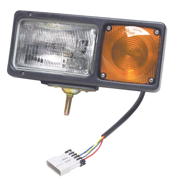 Grote Industries - 64271 – Per-Lux® Snowplow Light, Sealed Beam w/ Connector, LH